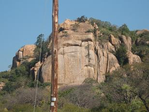 domboshaba hills and ruins