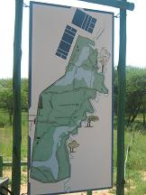 map of gaborone game reserve